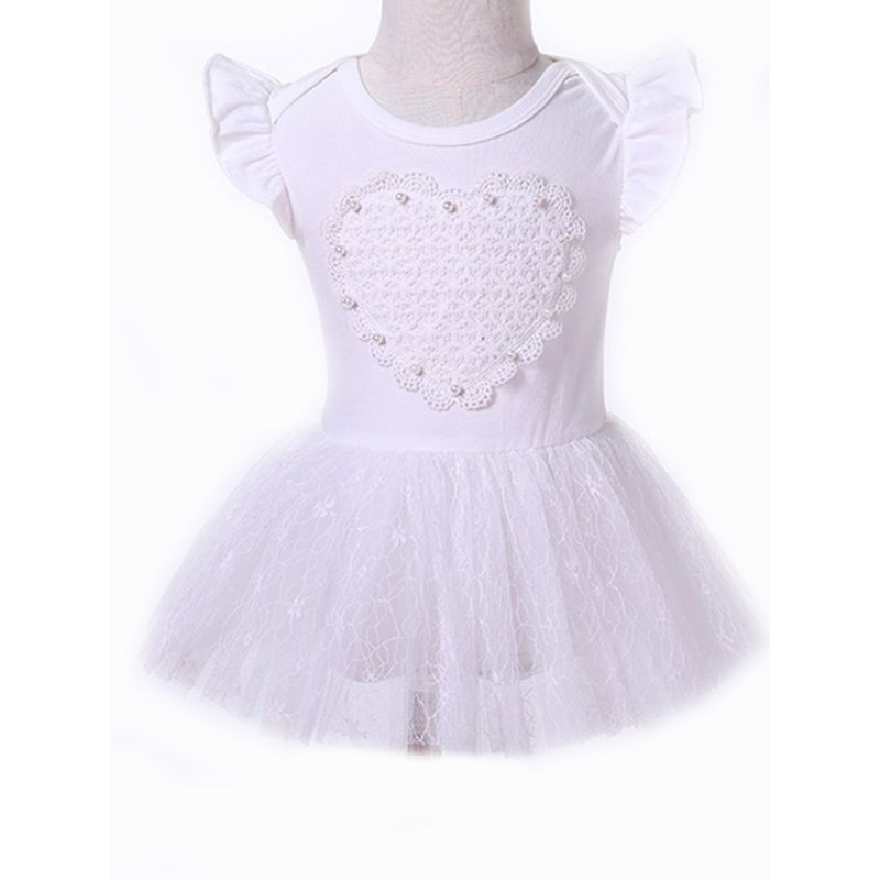 Kiskissing Hot Sale Baby Tulle Dress Cap Sleeves Beading Embroidery Princess Dress For Toddler Girls the obverse side wholesale princess dresses