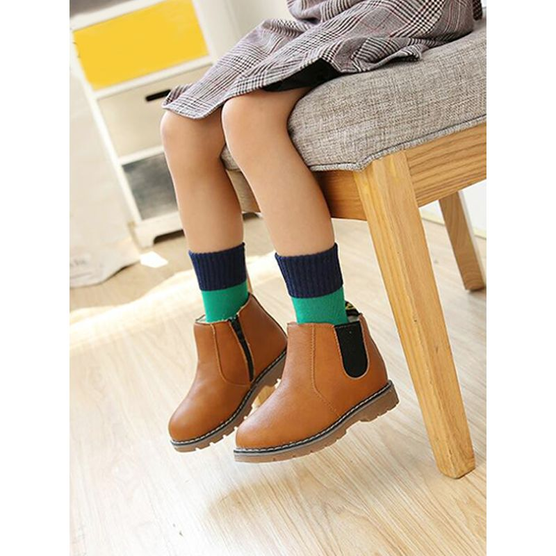Kiskissing Cool Color-block Cotton Socks for Toddlers Girls Boys wholesale toddler accessories