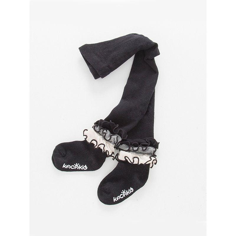 Ankel Stringy Selvedge Baby Pantihose Cotton Princess Toddler Leggings Stockings