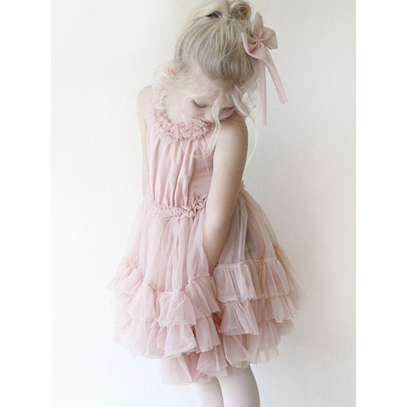 d397f63c6 Wholesale Sweet Tulle Off Shoulder Baby Girl Dress