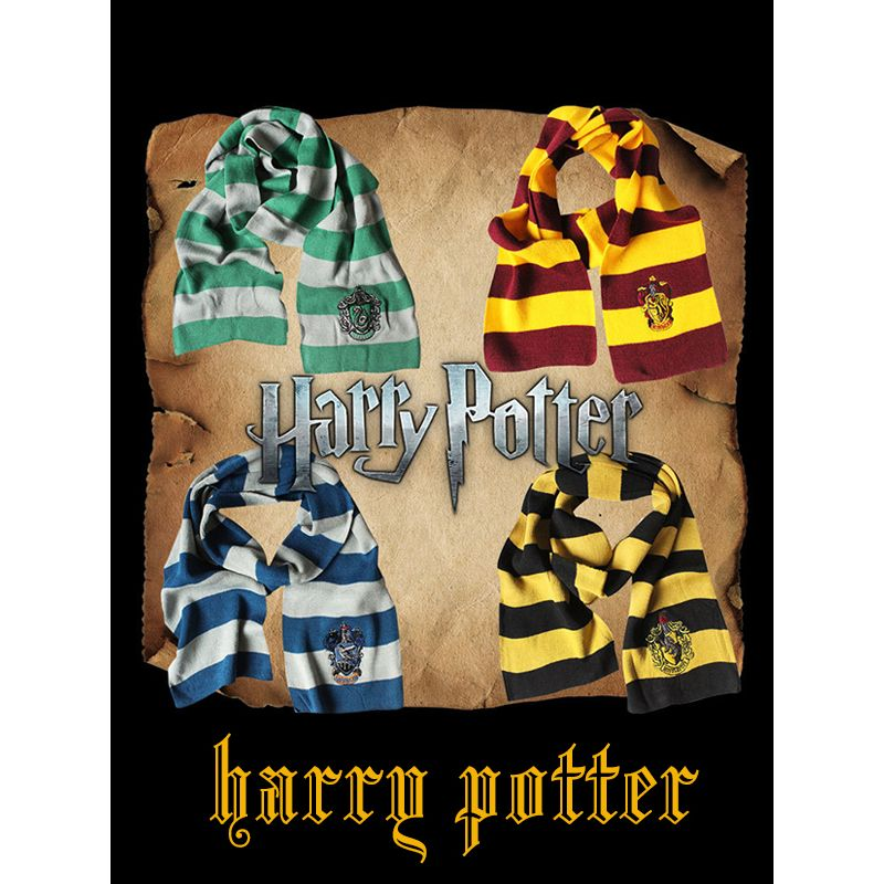 Cosplay Harry Porter Scarf  Holiday Halloween Party Wear for Boys Girls