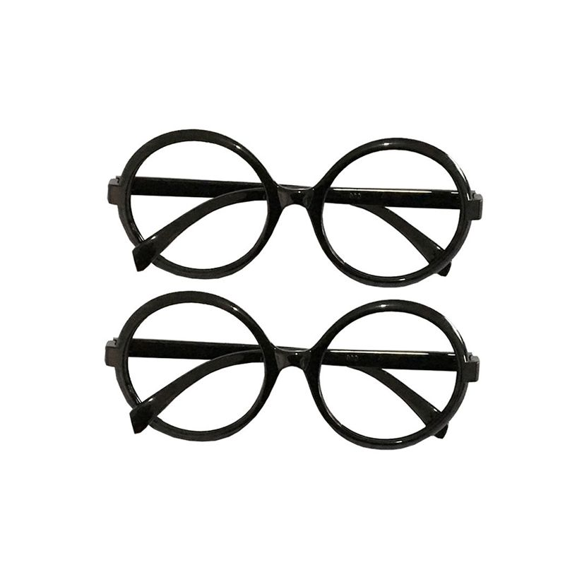 Cosplay Harry Porter Glasses Frame Holiday Halloween Party Wear for Boys Girls