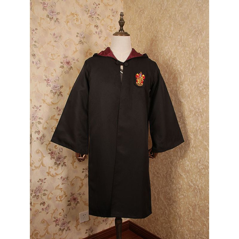 Cosplay Harry Porter Magic Cloak Robe Holiday Halloween Party Wear for Boys Girls Adults