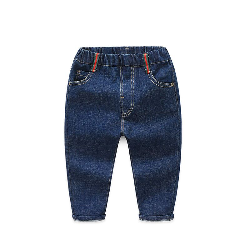46dbf29d69 Blue/Black Denim Jeans Pants Trousers for Toddlers Boys