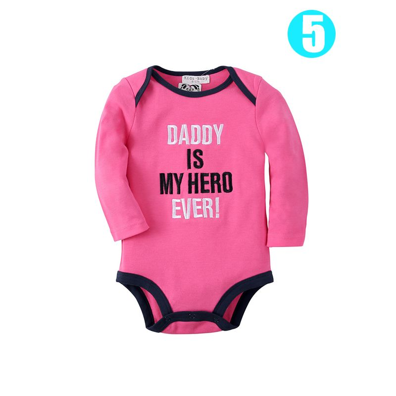 422a7a227 Cute Bear/Could/Letters/Deer Cotton Romper Long sleeve Bodysuit for Baby  Boys