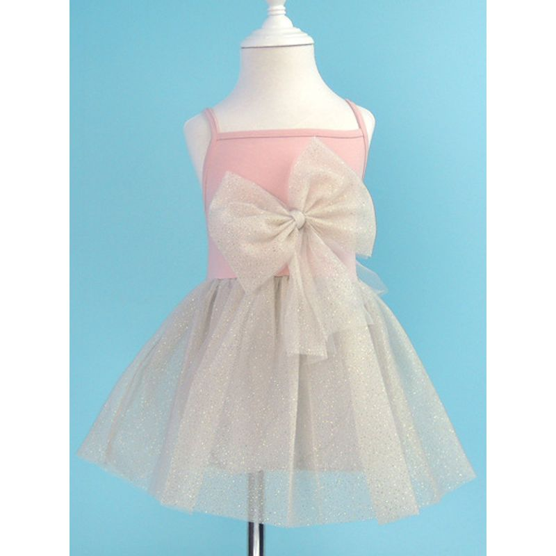 Suspender Sequin Flouncing Tulle Toddler Girls Tutu Dress