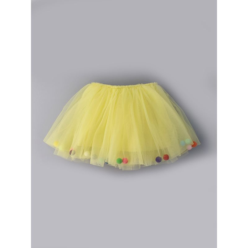 Colorful Balls Candy Color Baby Toddler Girls Princess Tulle Skirt