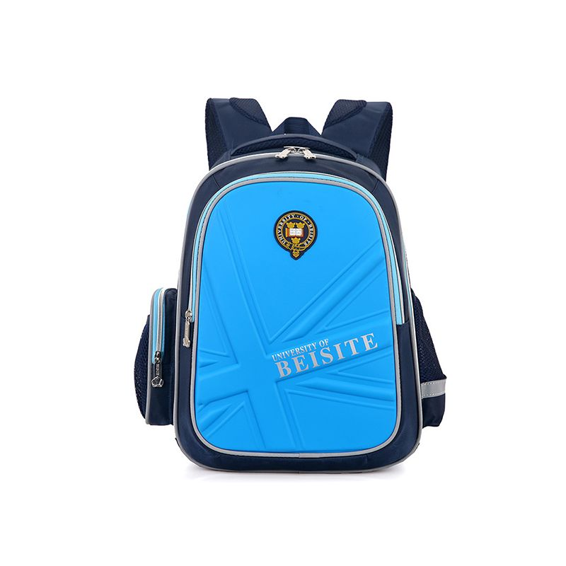Back to School Hard Shell Backpack Portable Schoolbag Zip-up for Elementary School Students Boys