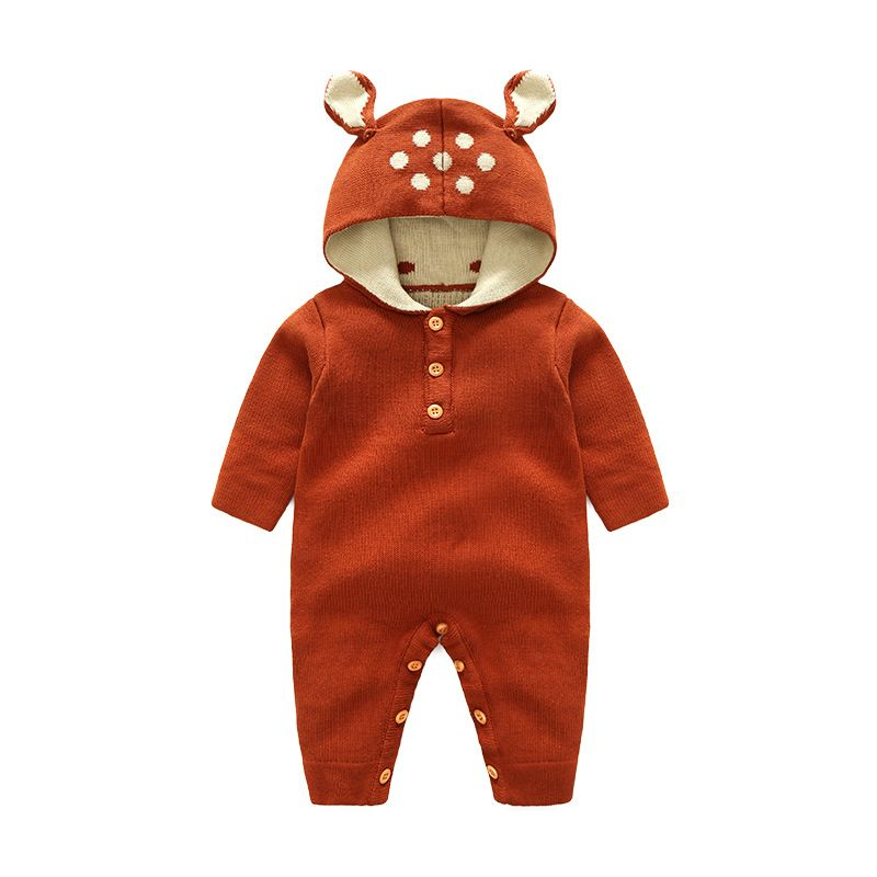 1dc016cac Wholesale Cute Hooded Animal Ear Knitted Infant
