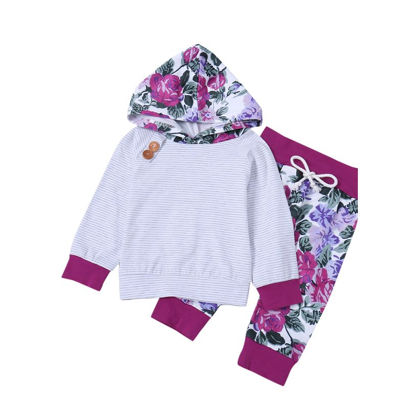 36fb832f2 Wholesale Winter Casual 2-piece Baby Toddler Girls Kids