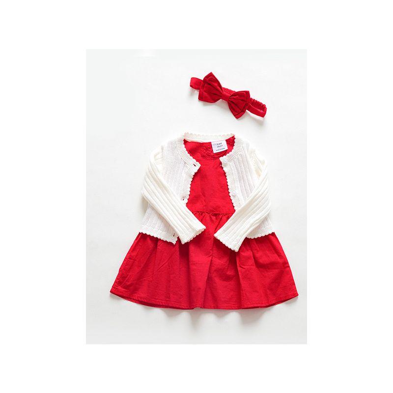 c4ecd1b10 Wholesale 3PCS Baby Birth Day Party Dress Cardigan