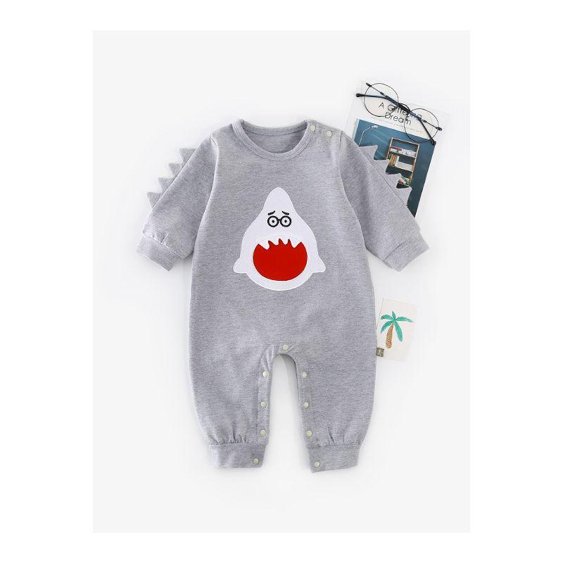 2970f1f4ca51 Wholesale Cute Little Monsters Pattern Baby Romper