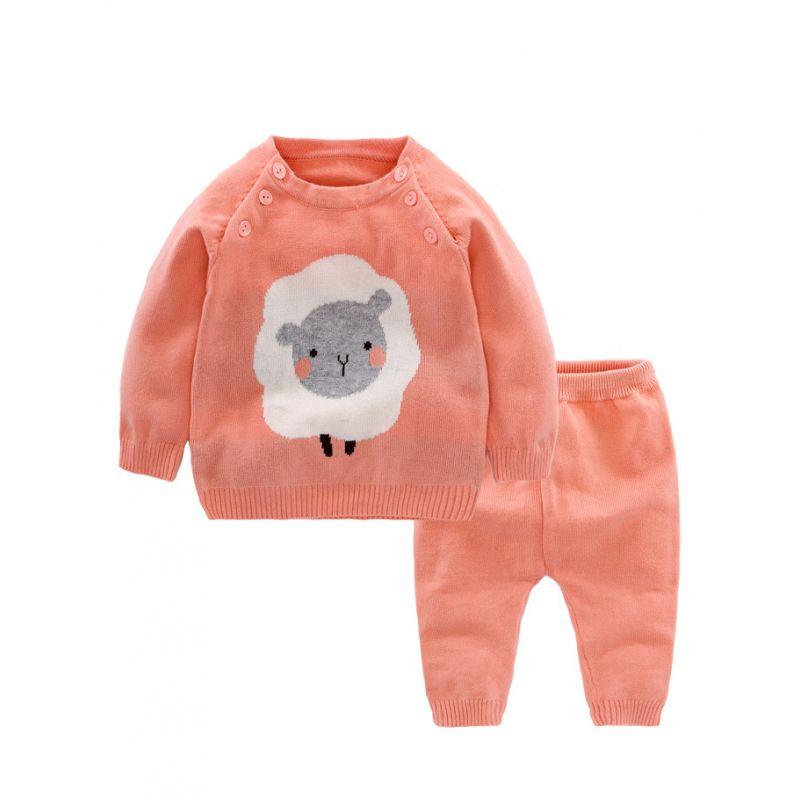 Wholesale 2pcs Sheep Pattern Crochet Baby Boys Girls