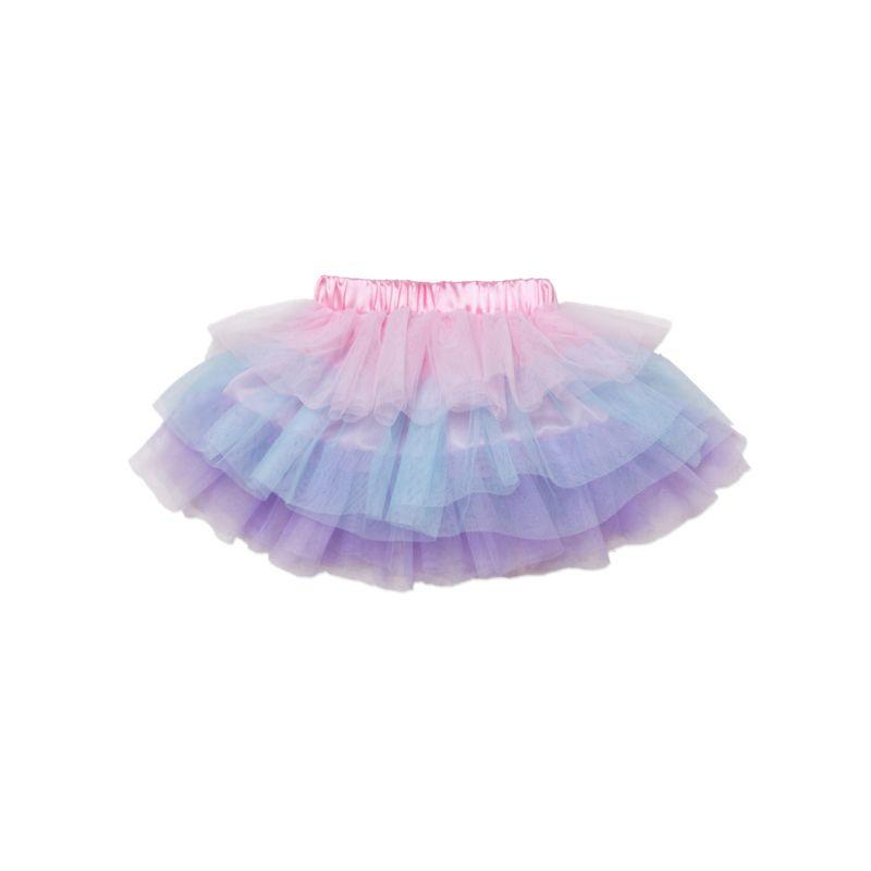 Cute Colorful Baby Toddler Girl Tulle Skirt Kids Dance Tutu Skirt