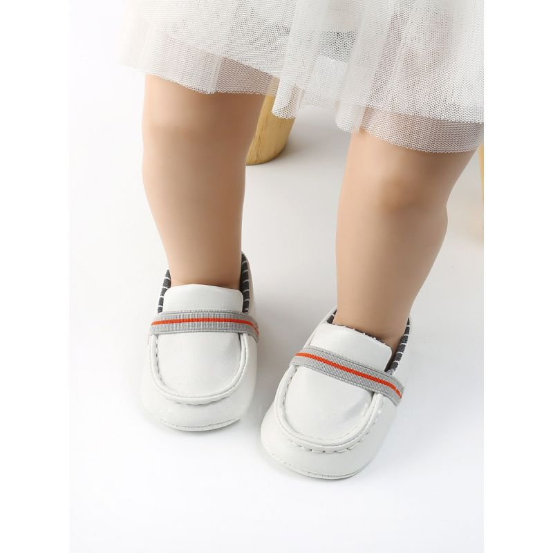 Cute Infant Loafers Slip-on Casual First Walking Shoes for Spring Autumn
