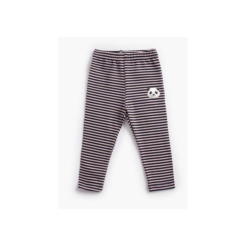Baby Toddler Kids Striped Panda Cotton Long Pants Children Leggings