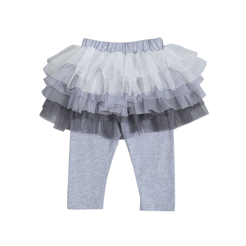 Infant Toddler Girls Tulle Leggings Pants Tutu Legging Skirts Pantskirt
