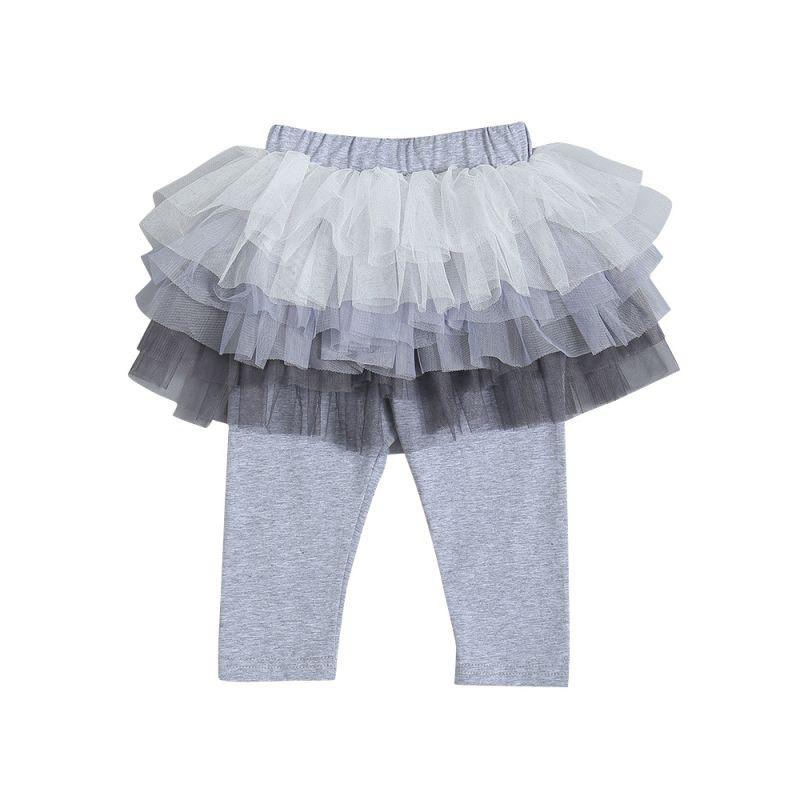 Infant Toddler Girls Tulle Leggings Pants Tutu Legging Skirts Pantskirt