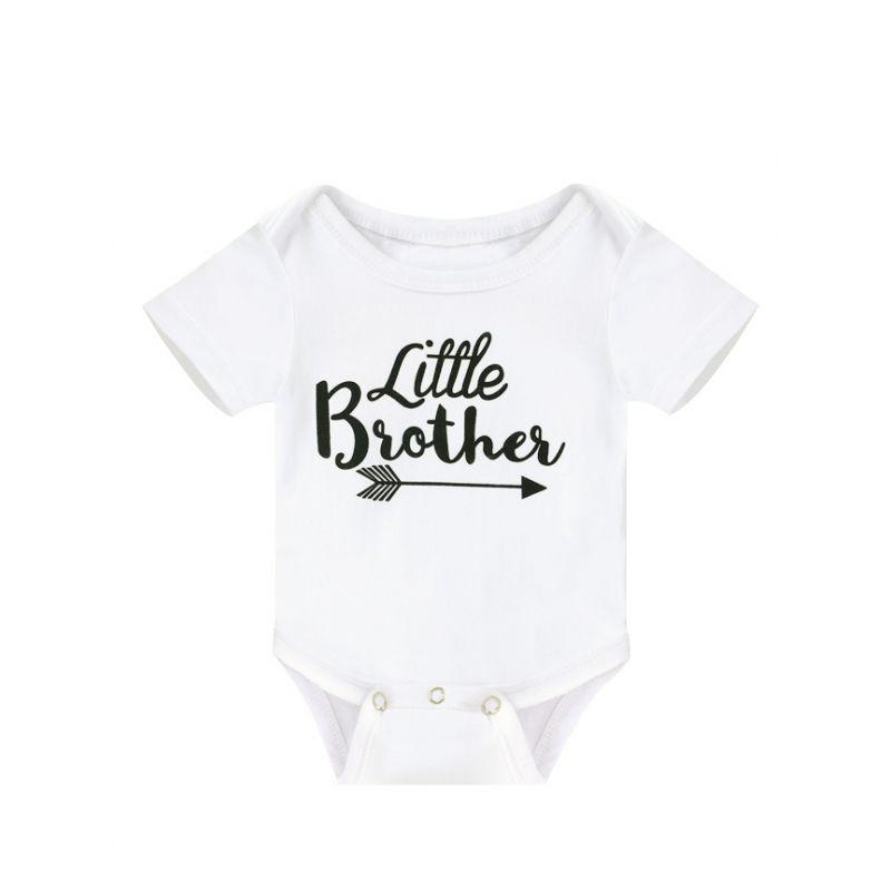 Little Brother Baby Summer Bodysuit Onesie