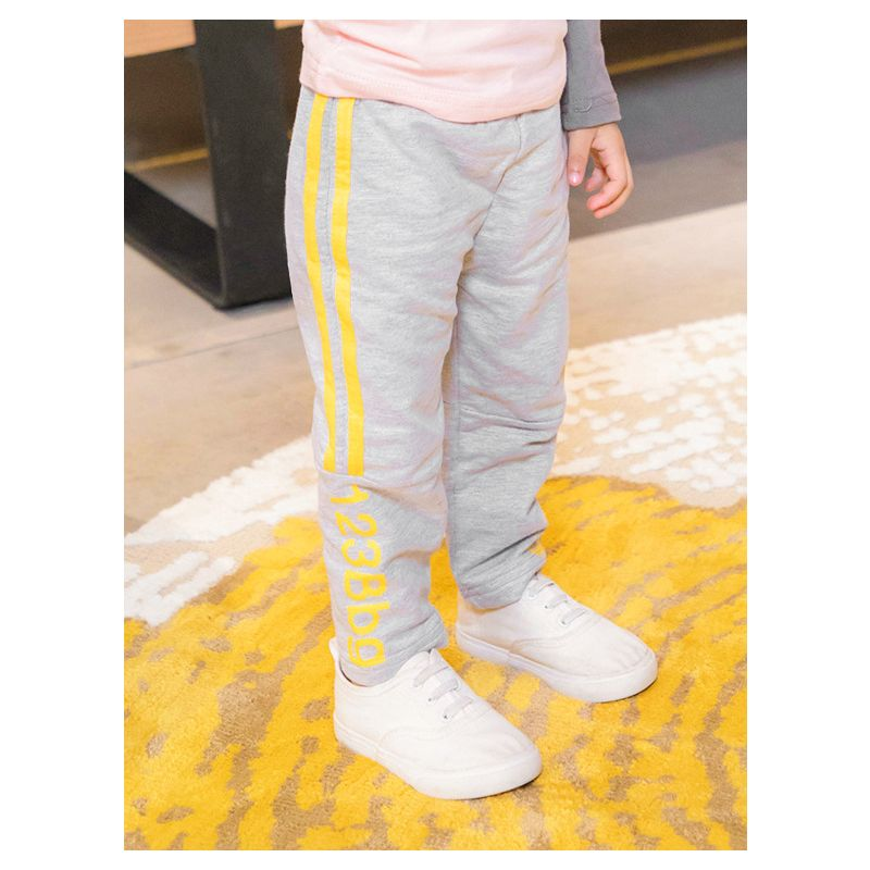 Baby Toddler Big Boys Girls Side Striped Casual Cotton Sport Pants