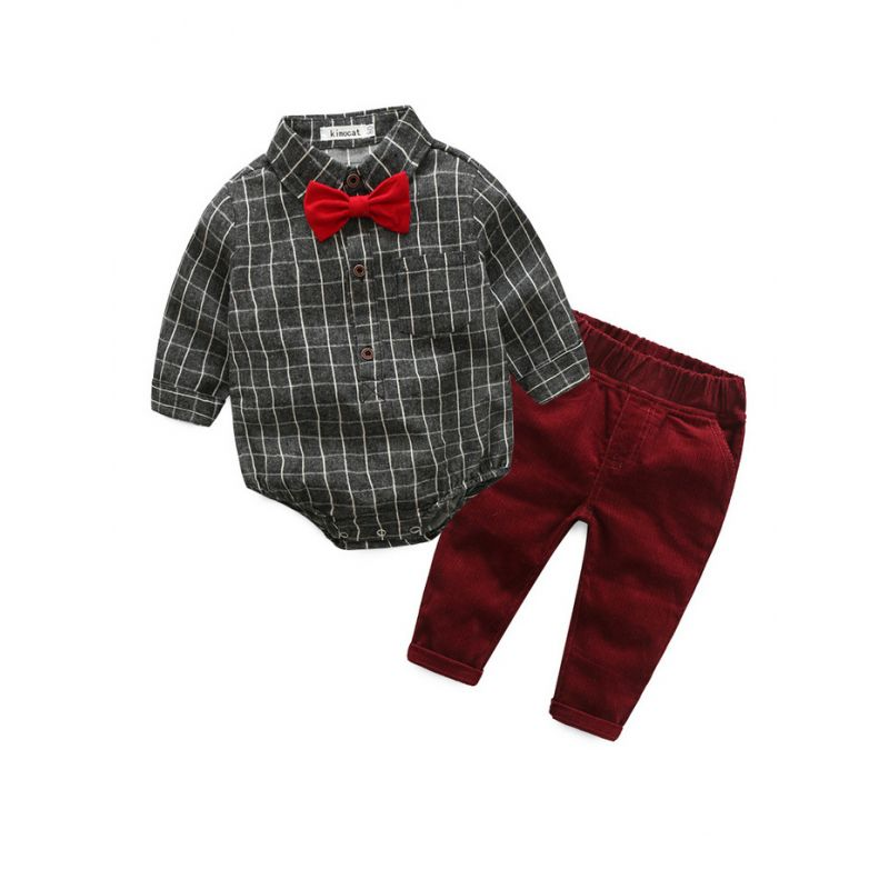 276f3668b772 Wholesale 3- Piece Baby Boys Spring Clothes Outfits Set
