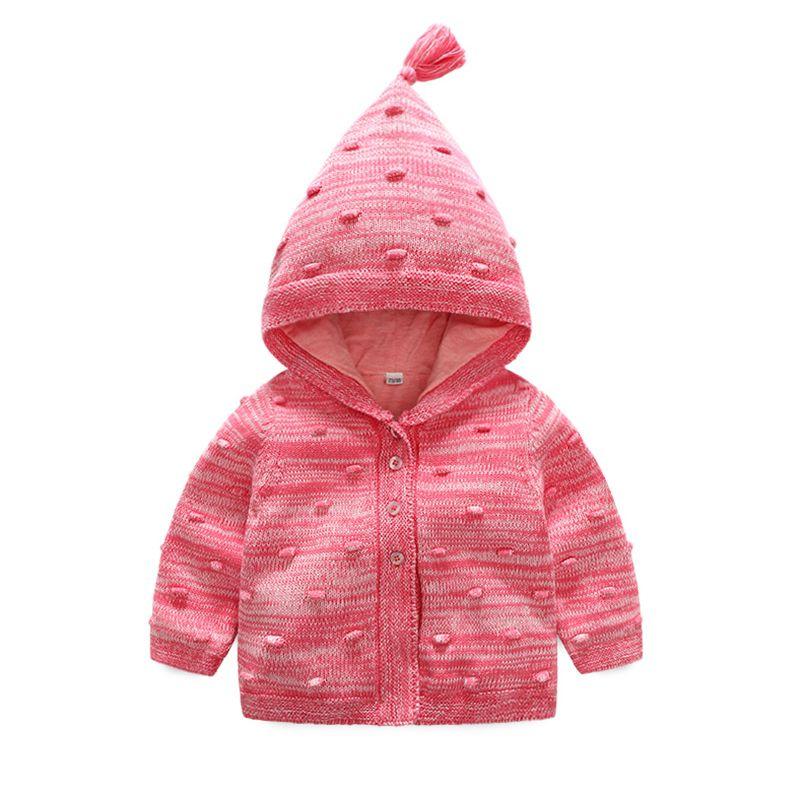 Adorable Baby Girl Hooded Jacket Infant Autumn Spring Coat