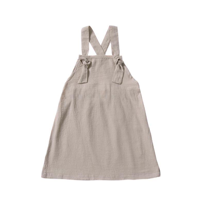 Summer Baby Little Girl Casual Pinafore Dress