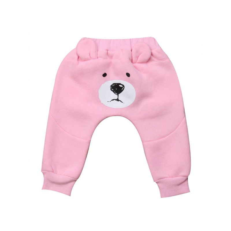 Spring Cute Toddler Infant Boys Girls Ear Style Pants