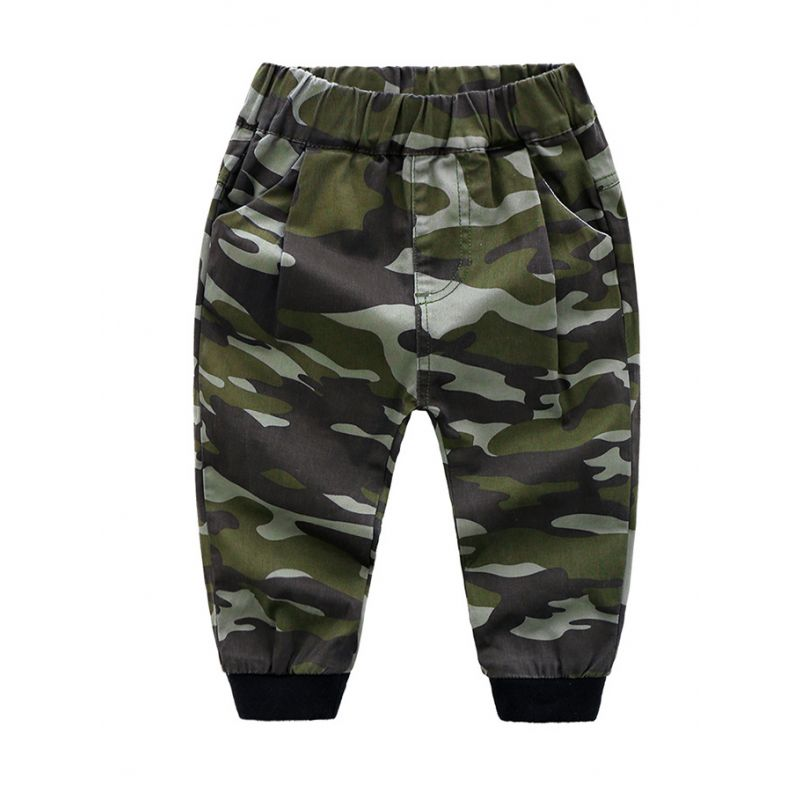 5-PACK Toddler Big Boys Casual Camo Trousers Kids Spring Collection