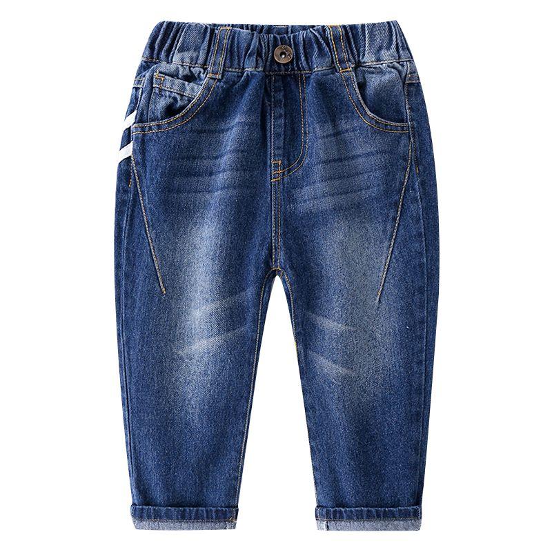 5-PACK Spring Little Big Boys Pull-on Jeans Kids Denim Trousers