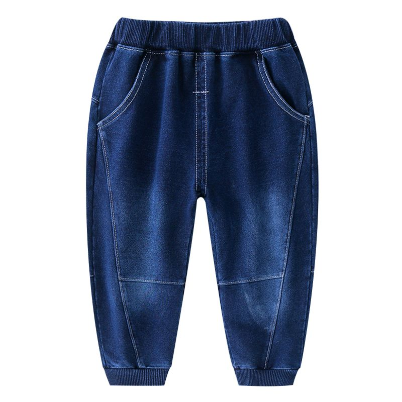 5-PACK Boys Casual Pull On Jeans Kids Spring Collection Denim Trousers