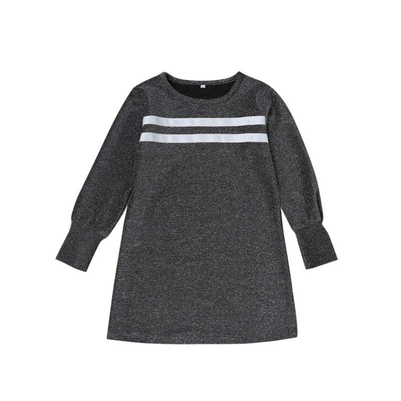 Spring Toddler Big Kids Striped Long-sleeved Top