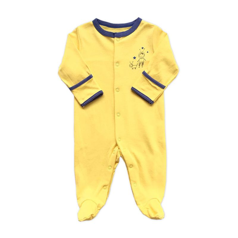 Newborn Infant Footed Sleepsuit Overalls