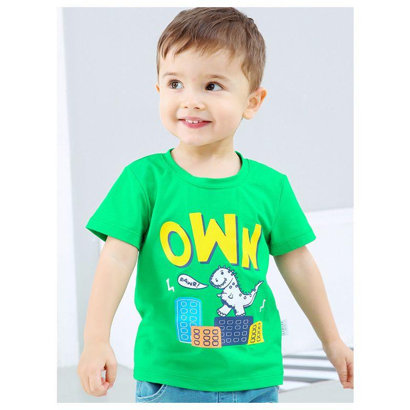 Cute Cartoon Dinosaur Baby Little Boys T-shirt