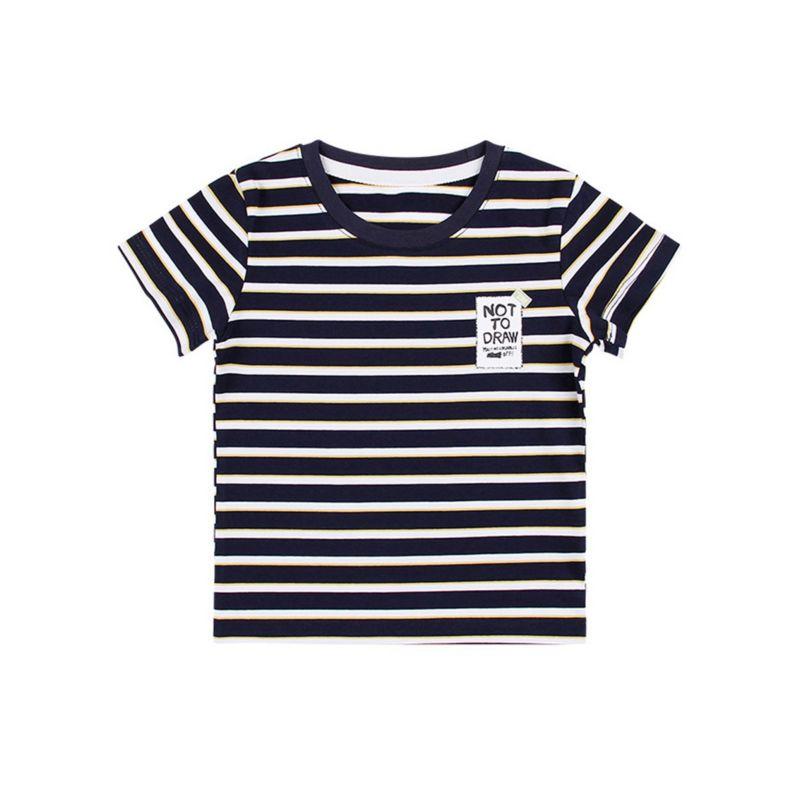 Korean Style Infant Little Boys Stripe T-shirt