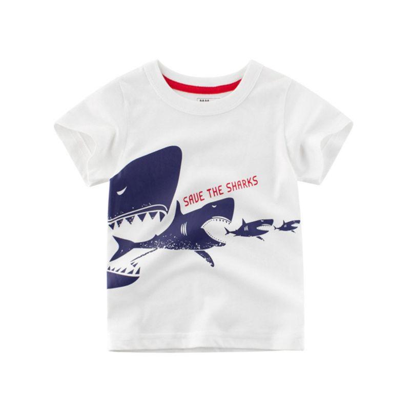 Summer Save The Shark Toddler Big Kids T-shirt