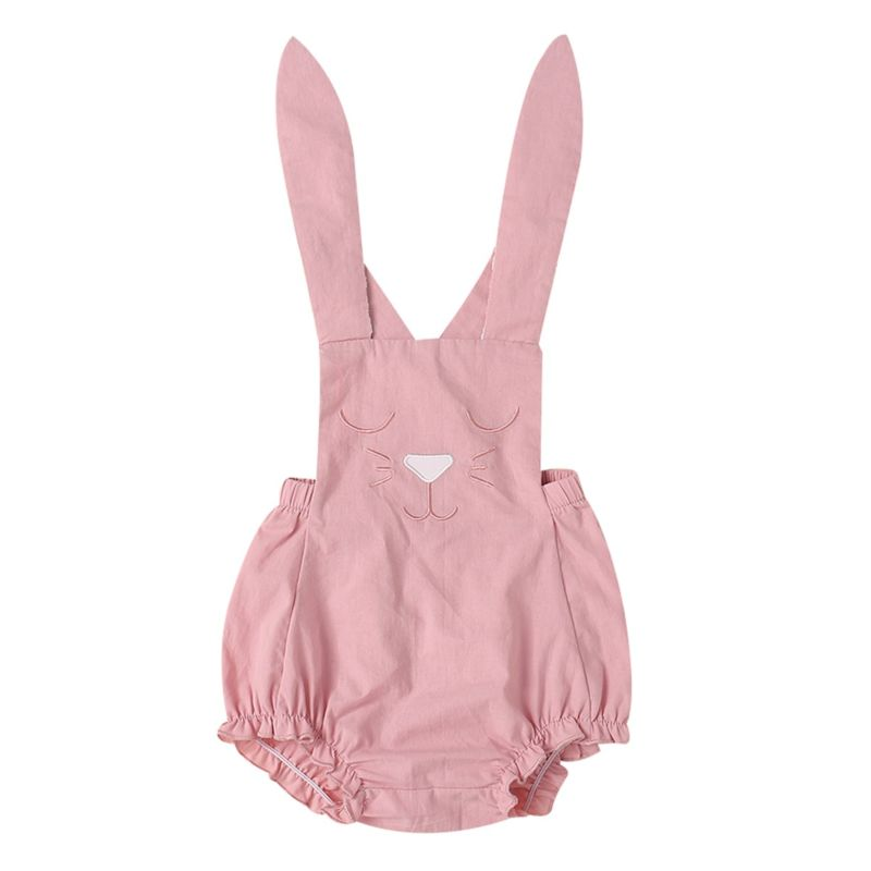 Adorable Bunny Style Easter Baby Bodysuit