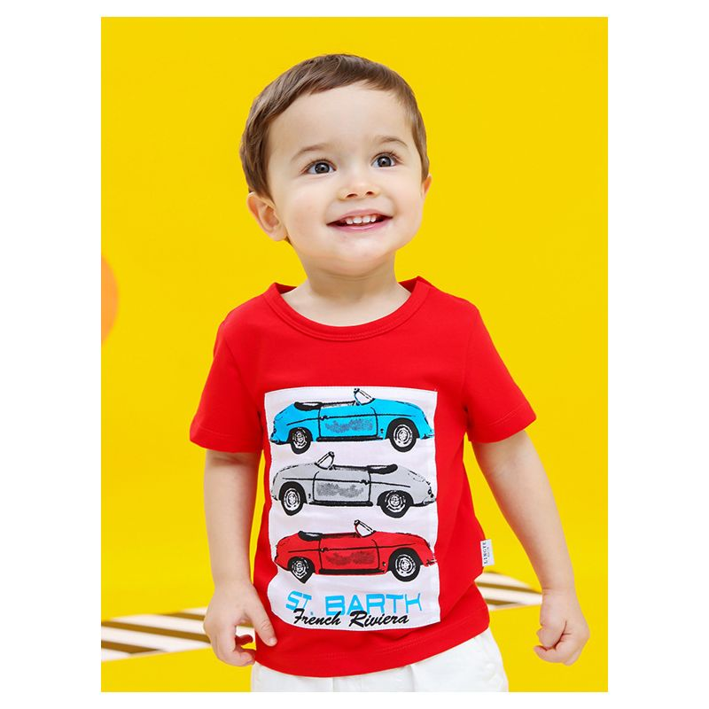 Wholesale Summer Infant Little Kids Cartoon Car Print