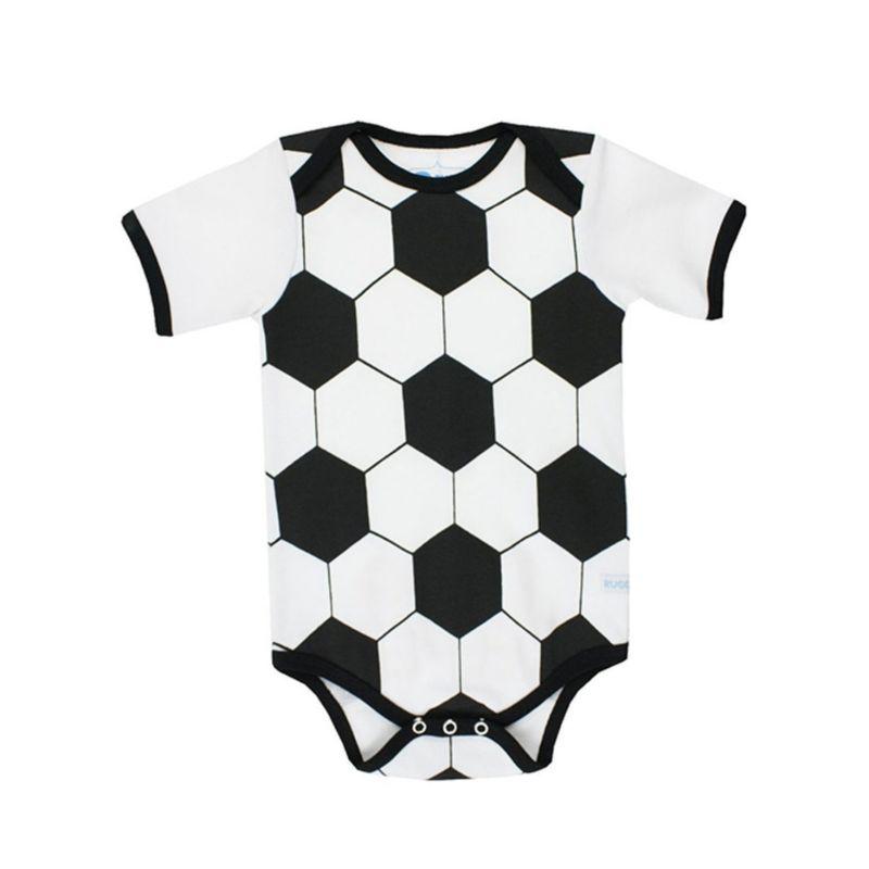 Summer Cartoon Balls Pattern Baby Bodysuit