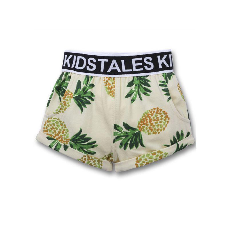 Baby Boy Printed Beach Shorts