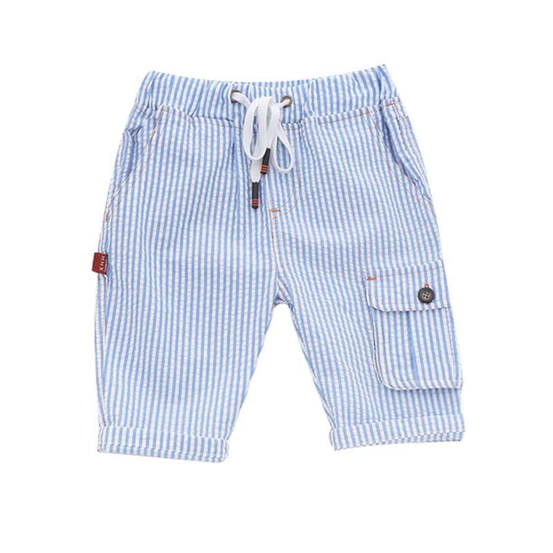 5-PACK Toddler Little Kids Stripe Pocket Shorts with Drawstring