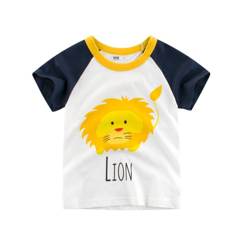 Lion Penguin Little Big Kids T-shirt