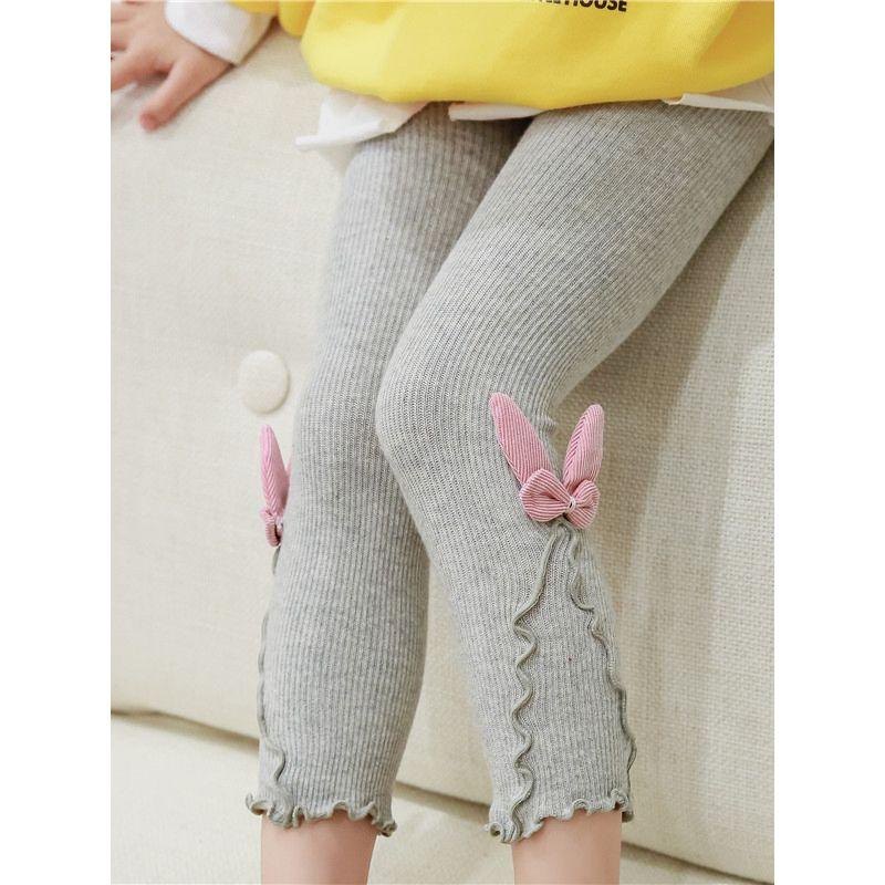 b2e3eaa16 2-PACK Ruffle Solid Color Baby Kids Tights Leggings Pants