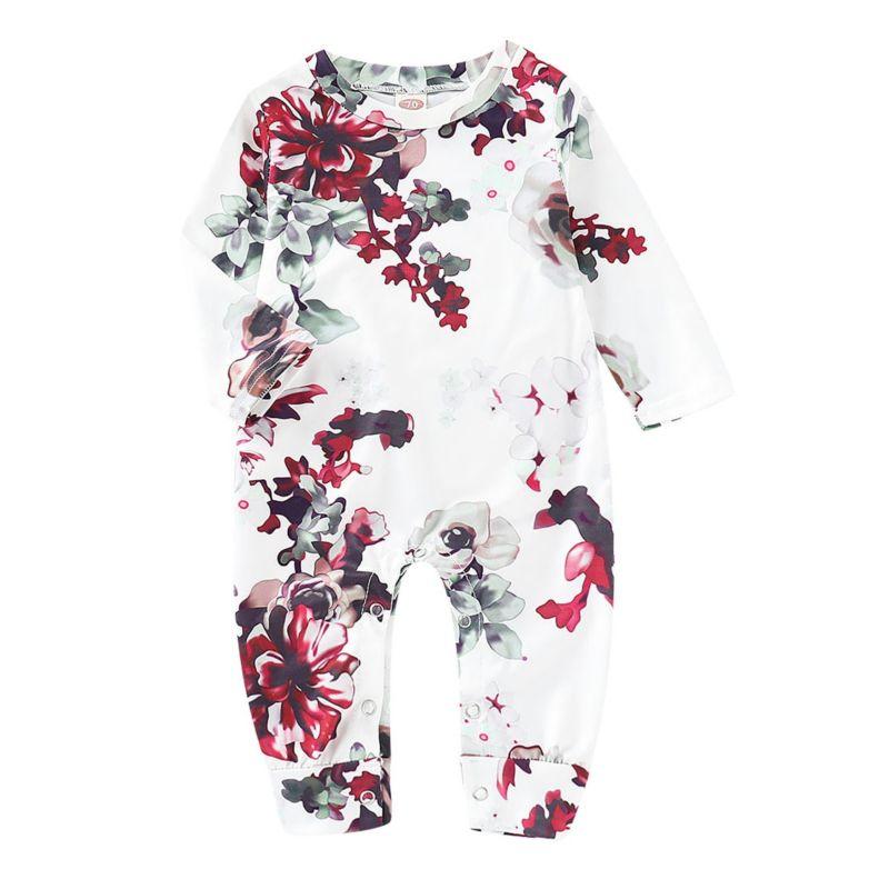 Spring Flower Infant Jumpsuit