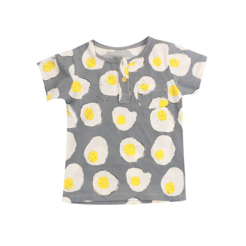 Fried Egg Baby Little Kids T-shirt