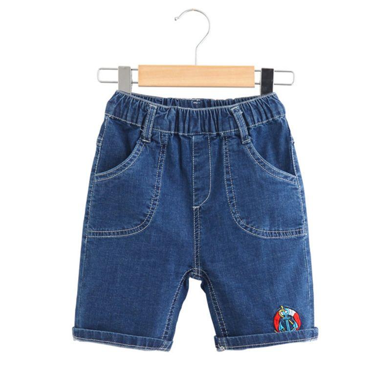 Toddler Big Kids Blue Short Jeans