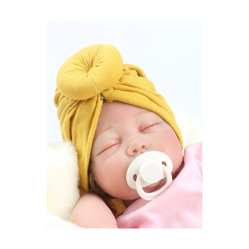 5-PACK Solid Color Baby Little Kids Muslim Turban Hat