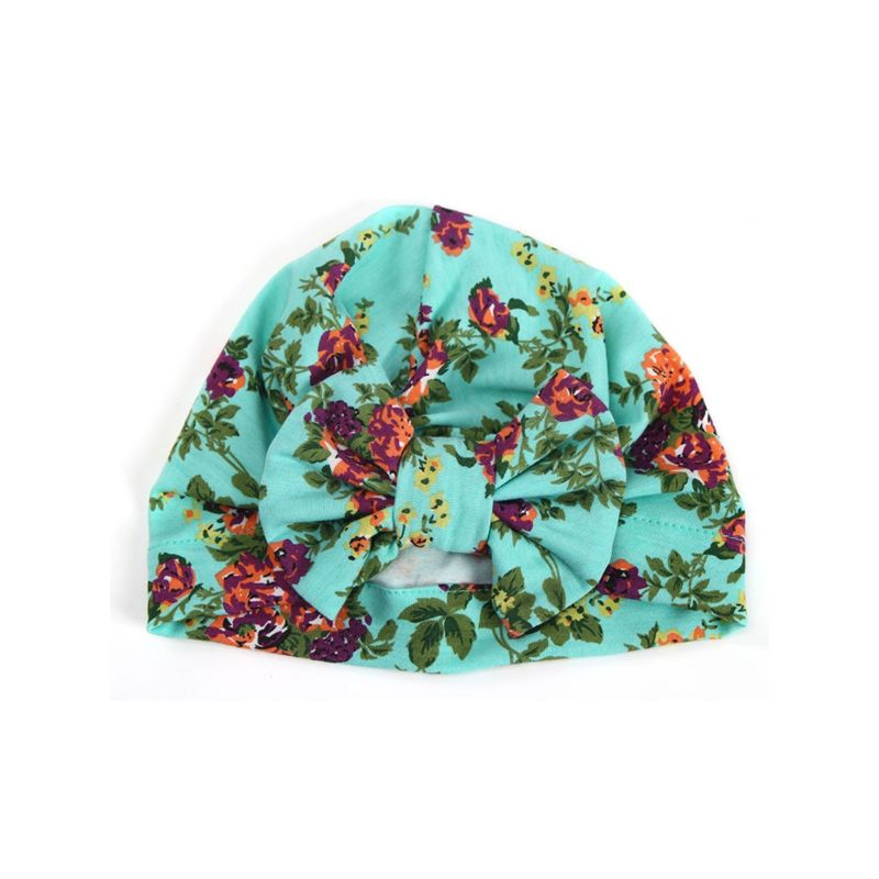 5-PACK Boho Style Flower Baby  Wrap Hat