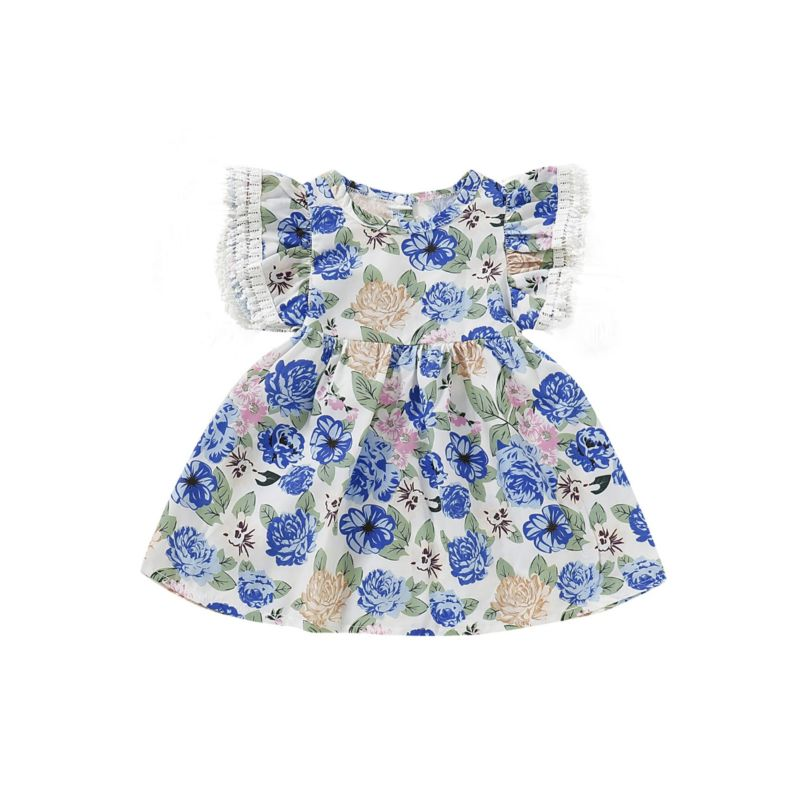 Baby Toddler Girl Flower Casual Dress