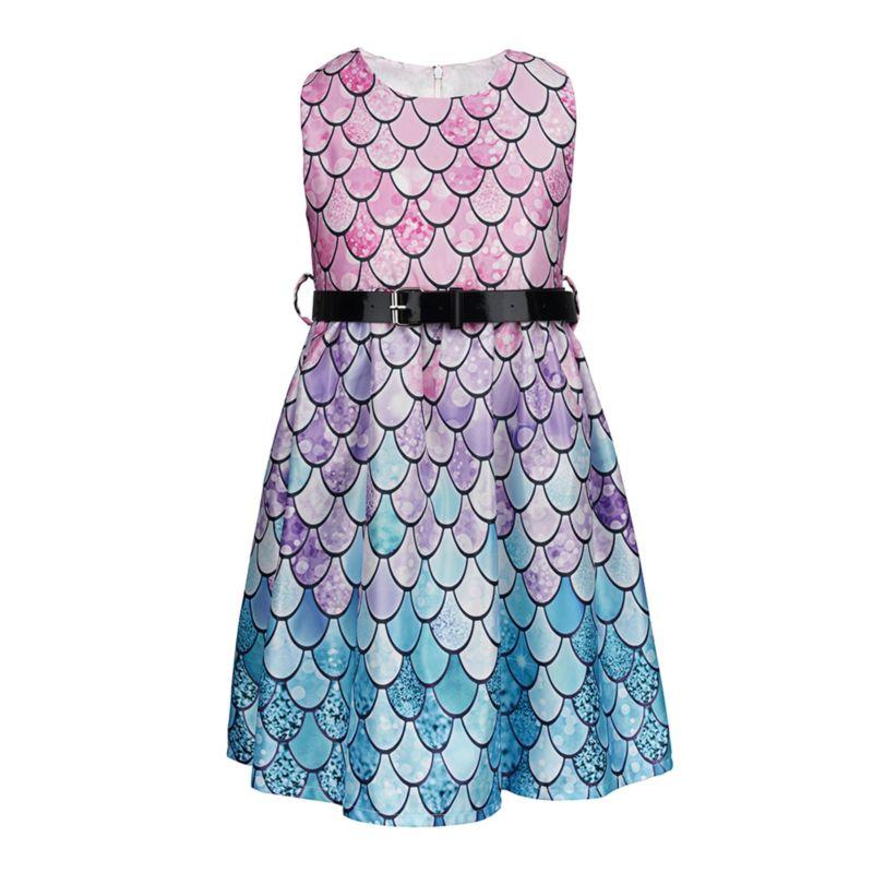 Mermaid Style Sleeveless Dress